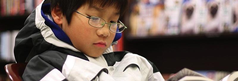 Boy Reading short
